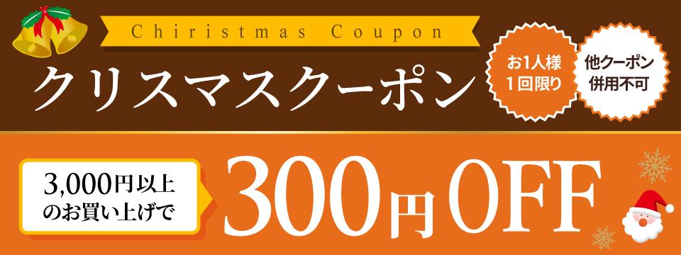 クリスマス★クーポン【300円OFF】